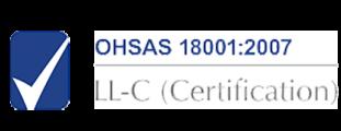 2 Logo OHSAS 18001-LL-Certification