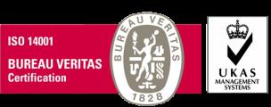 Logo ISO 14001-UKAS