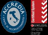 Logo ISO 9001 - Accredia